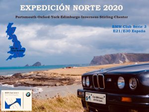 Expedición Norte 2020 del Club BMW Serie 3 (E21/E30) España