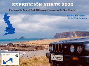 Expedición Norte 2020 del Club BMW Serie 3 (E21/E30) España